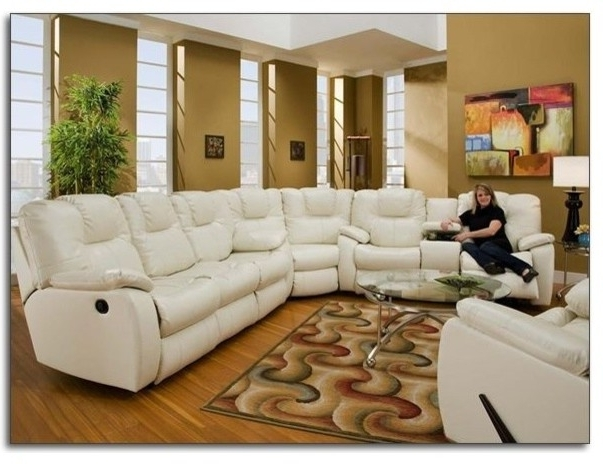 Best Reclining Leather Sectional Sofa Recline Designs Furniture With Current Leather Recliner Sectional Sofas (View 9 of 10)