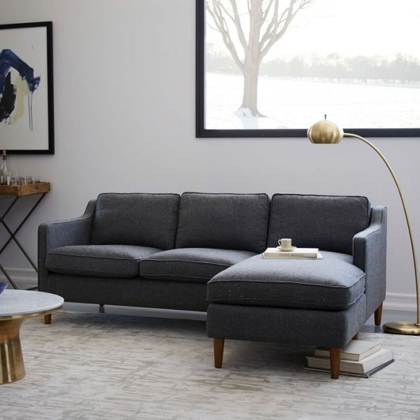 Best Sofas And Couches For Small Es 9 Stylish Options Throughout Favorite Sectional