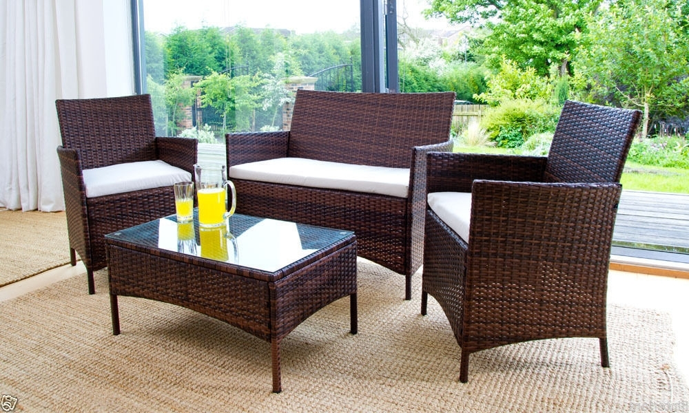 Best Vintage Rattan Outdoor Furniture Pictures – Liltigertoo Pertaining To 2018 Outdoor Sofas And Chairs (View 2 of 10)