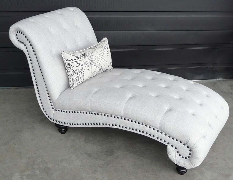 Beverly Tufted Chaise With Regard To Newest Tufted Chaises (View 12 of 15)