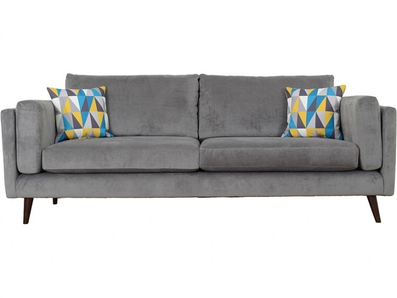 Bianca Extra Large 4 Seater Fabric Sofa – Lee Longlands In Best And Newest Large 4 Seater Sofas (View 4 of 10)
