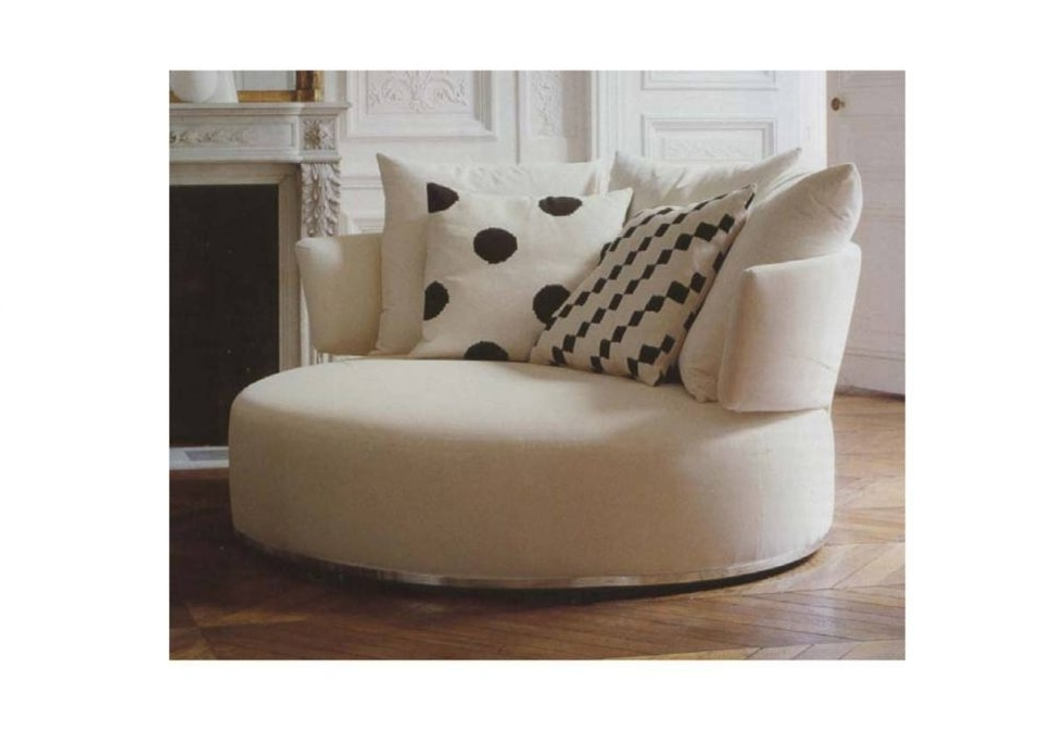 Big Round Sofa Chairs Intended For Best And Newest Sofa : Endearing Round Sofa Chair Round Sofa Chair Round Sofa (View 2 of 10)