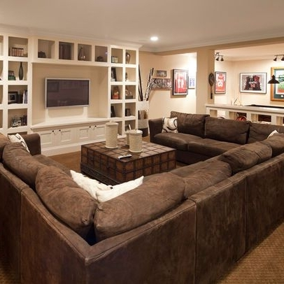 Big U Shaped Sectionals Inside Popular Comfortable Living Room Art Ideas And Best 25 U Shaped Sectional (View 4 of 10)