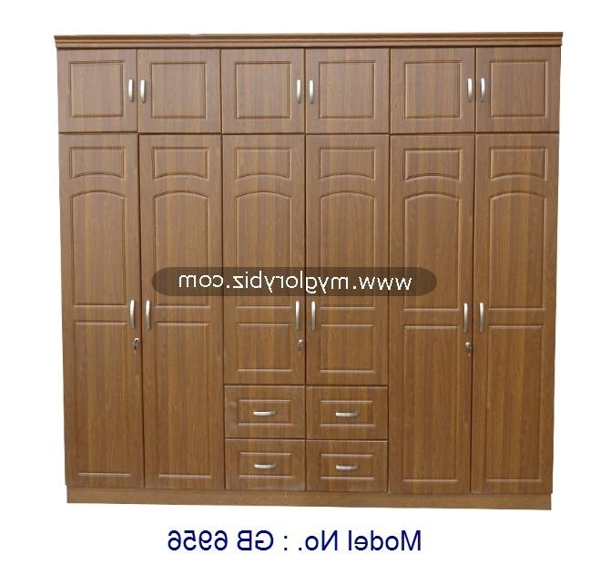 Big Wardrobe Closet,mdf 6 Doors Wardrobe,malaysia Bedroom In Favorite 6 Door Wardrobes Bedroom Furniture (View 6 of 15)