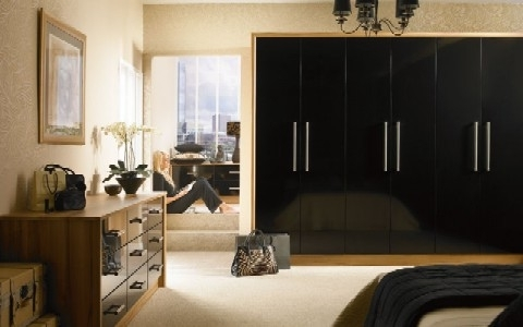 Black And White Wardrobes Set Inside Widely Used Woodworkers – Wardrobe Doors (View 3 of 15)