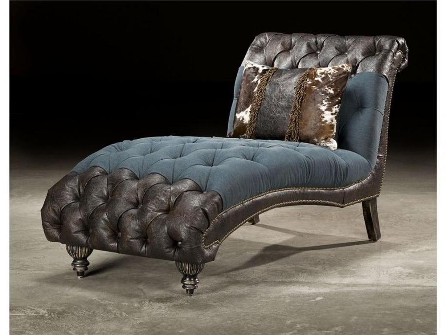 Black Chaises For Most Recently Released Apartments: Excellent Chaise Lounges Design With Victorian Style (View 5 of 15)