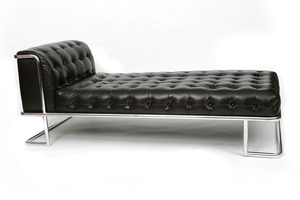 Black Leather Chaises In Most Up To Date Sofa : Modern Leather Chaise Modern Leather Chaise Lounge Chairs (View 2 of 15)