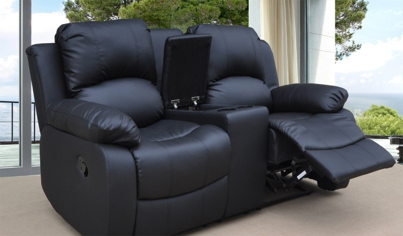 Featured Photo of 2 Seater Recliner Leather Sofas