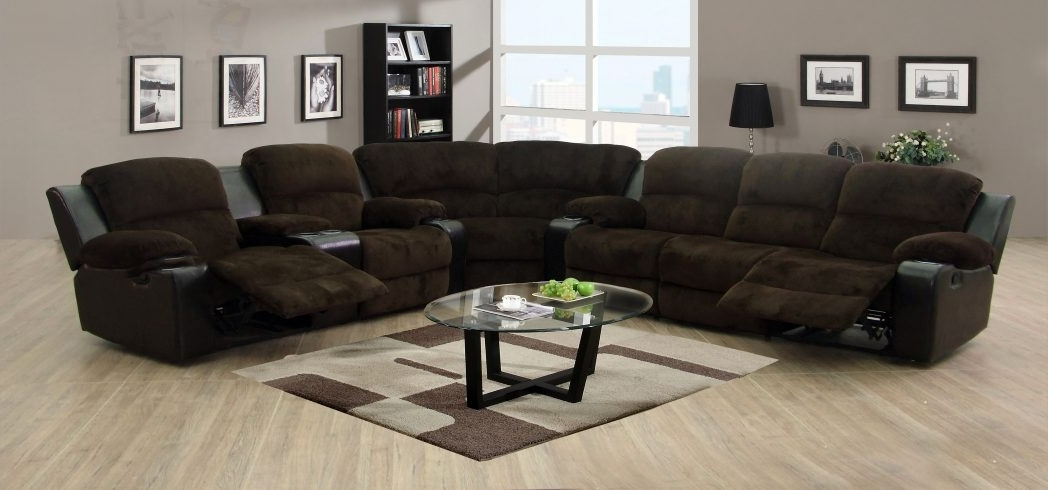 Black Leather Sectional Sofa Clearance Lounge Sectionals Modern Intended For Well Known Closeout Sofas (View 2 of 10)