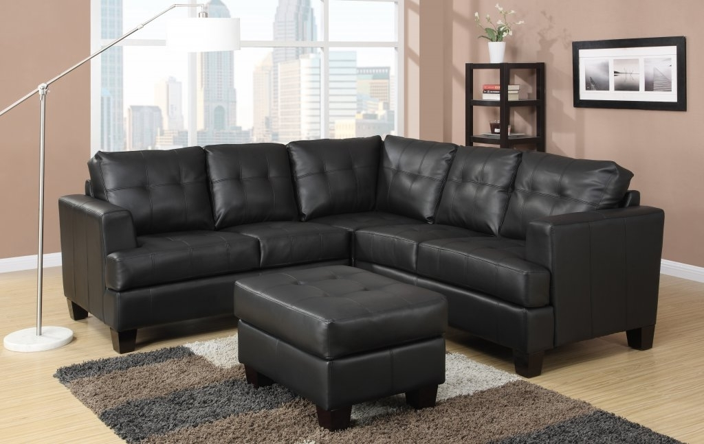Black Leather Sectional With Chaise Recliners — Radionigerialagos With Regard To Widely Used Black Leather Sectionals With Chaise (View 1 of 15)
