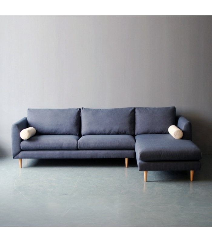 Bleu L Shaped Sofa – Mountain Teak With Regard To Recent L Shaped Sofas (View 10 of 10)