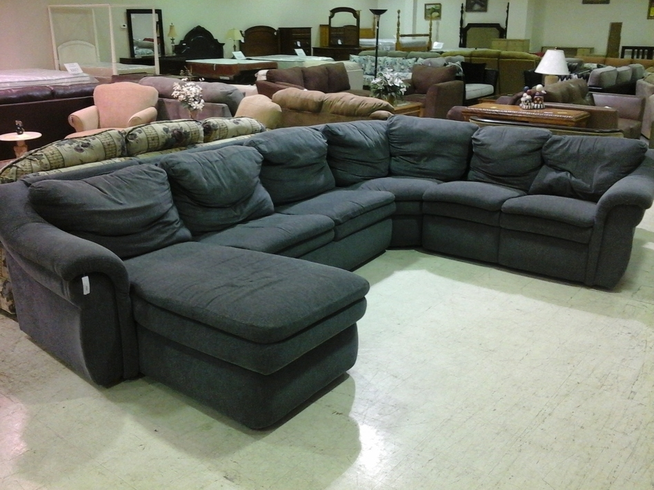 Blue U Shaped Sectionals Intended For Widely Used Cheap U Shaped Sectional Sofas Captivating Twill Camel Back Medium (View 7 of 10)