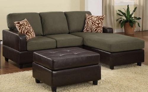 Bobkona Manhattan Reversible Microfiber 3 Piece Sectional Sofa Within Most Popular Sectional Sofas With Chaise And Ottoman (View 2 of 10)