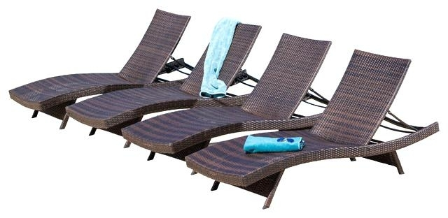 Boca Chaise Lounge Outdoor Chairs With Pillows With Regard To Popular Chaise Lounge Chairs For Outdoors Outdoor Lounge Chairs Set Of  (View 8 of 15)