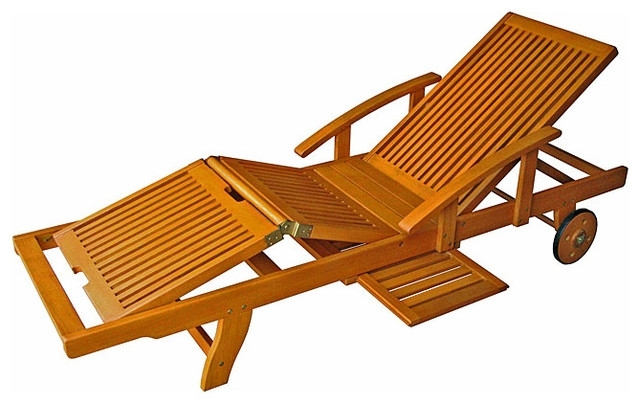Bonners Furniture In Wooden Outdoor Chaise Lounge Chairs (View 2 of 15)