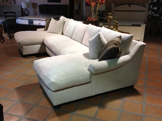 Bradly Double Chaise Feather Down Sectional In 2018 Double Chaise Sectionals (View 2 of 15)
