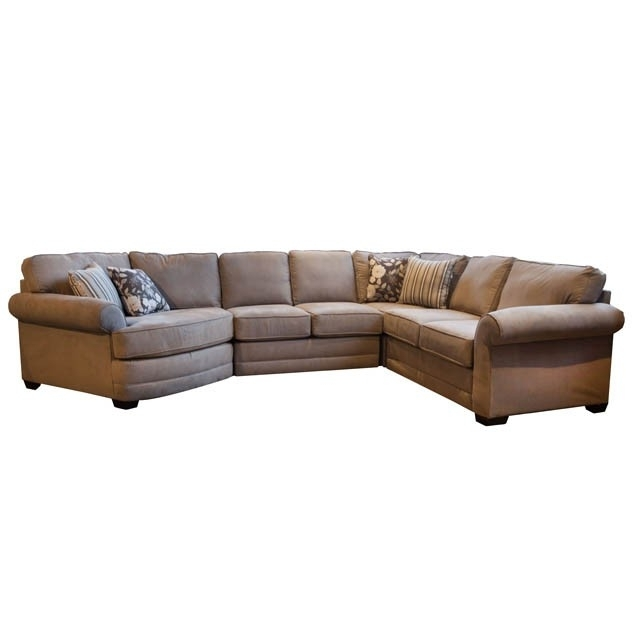 Brantley Ii 4 Piece Sectional – Bernie & Phyl's Furniture – Throughout Favorite Nashua Nh Sectional Sofas (View 4 of 10)