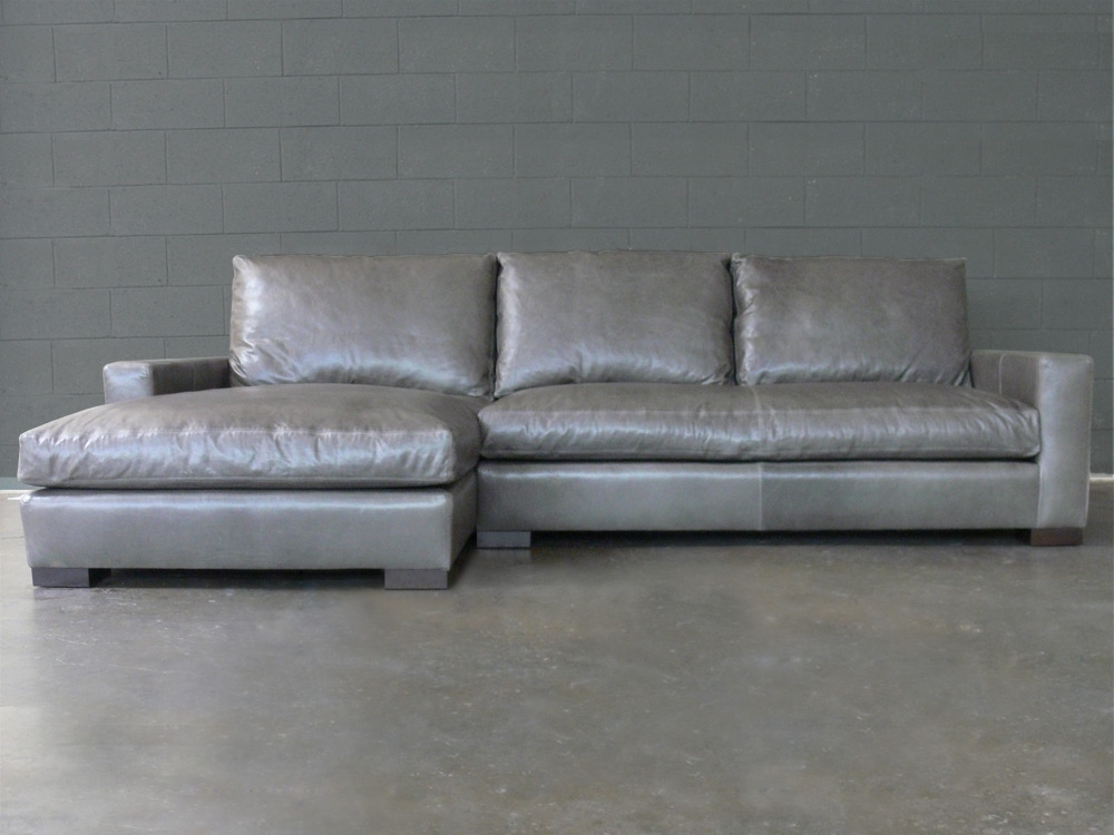 Braxton Fabric Sofa Chaise Sectional :: Sofas :: Home Within Fashionable Braxton Sofas (View 2 of 10)