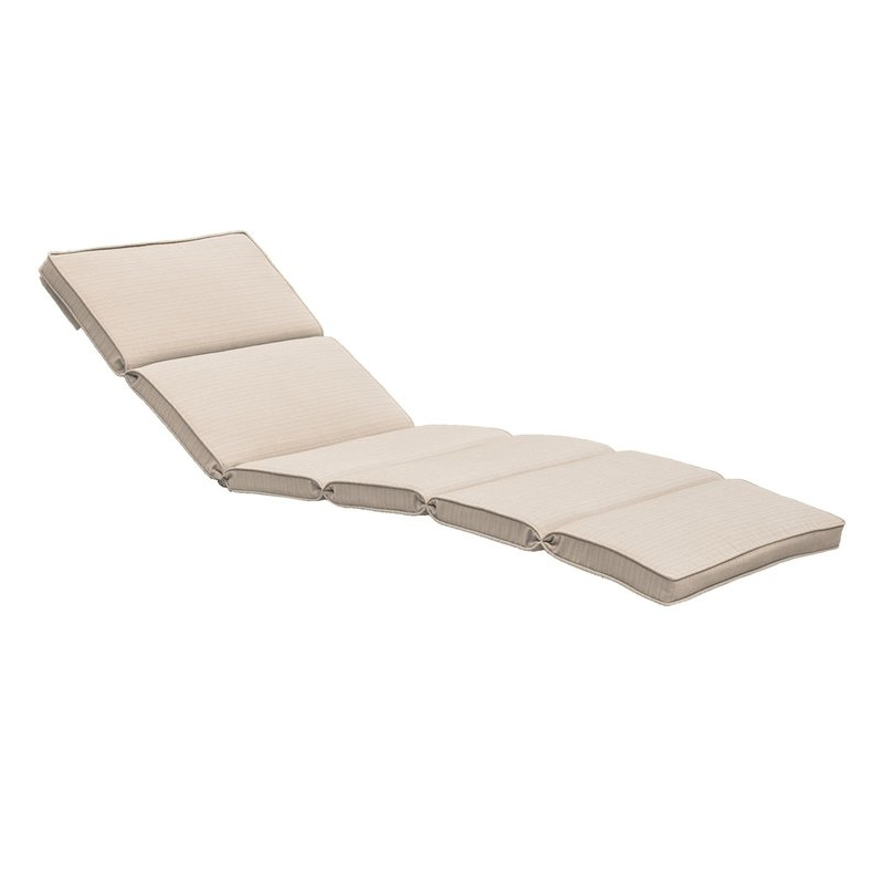 Brayden Studio Fortenberry Outdoor Chaise Lounge Cushion & Reviews For Famous Chaise Lounge Cushions (View 3 of 15)