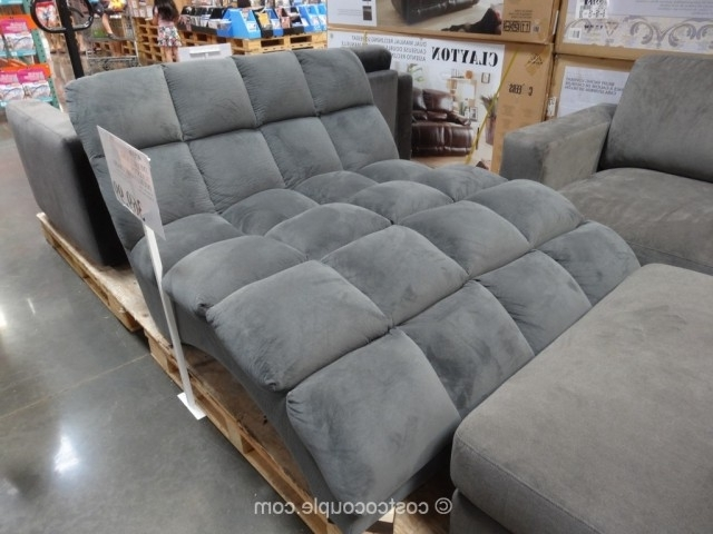 Brilliant Costco Chaise Lounge Emerald Home Boylston Double Fabric Intended For 2018 Costco Chaise Lounges (View 4 of 15)