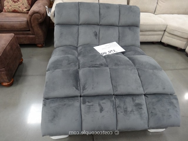 Brilliant Costco Chaise Lounge Emerald Home Boylston Double Fabric Within Most Popular Costco Chaise Lounges (View 5 of 15)
