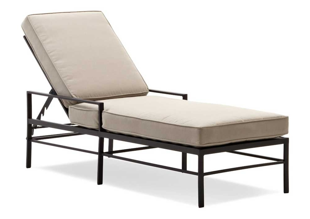 Brilliant Luxury Pool Lounge Chairs Outdoor Chaise Contemporary In Well Liked Metal Chaise Lounge Chairs (View 14 of 15)