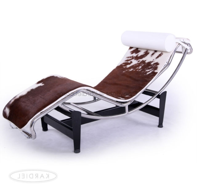 Brown Chaise Lounge Chair By Le Corbusier Throughout Well Known Le Corbusier Chaise Collection On Ebay! (View 7 of 15)