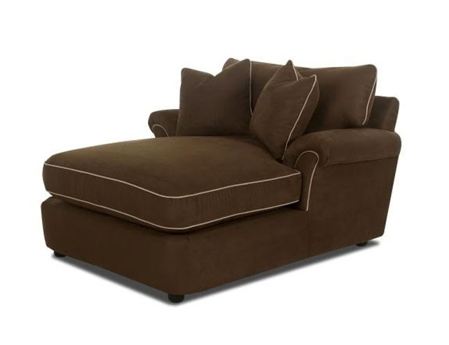 Brown Chaise Lounges With Widely Used Chocolate Brown Chaise Lounge – Foter (View 11 of 15)