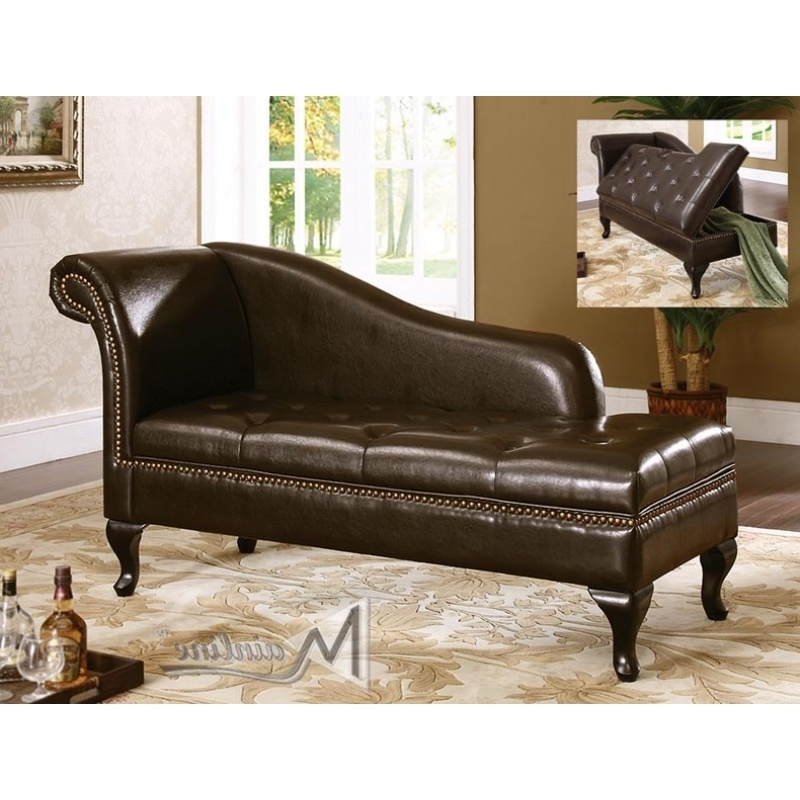 Featured Photo of Brown Leather Chaise Lounges