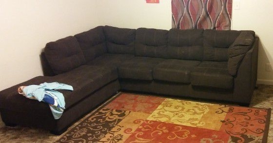 Brown Sectional (Furniture) In Clarksville, Tn – Offerup Regarding 2018 Clarksville Tn Sectional Sofas (View 3 of 10)