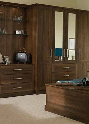 Brown Wardrobes Regarding Trendy Bespoke Wardrobes For Your Bedroom In Barnsley (View 12 of 15)