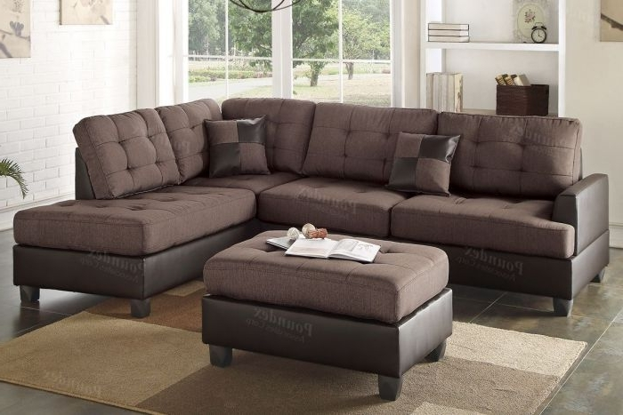 Buy Chocolate 3 Pieces Sectional Sofa In El Paso, Tx – Ecof For Well Known El Paso Texas Sectional Sofas (View 3 of 10)