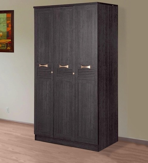 Buy Hometown Bolton Super Storage 3 Door Wardrobe Wenge Online – 3 Throughout Well Known Cheap 3 Door Wardrobes (View 2 of 15)