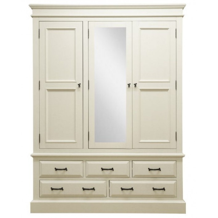 Buy Online Cheap Price White With Large White Wardrobes With Drawers (View 2 of 15)