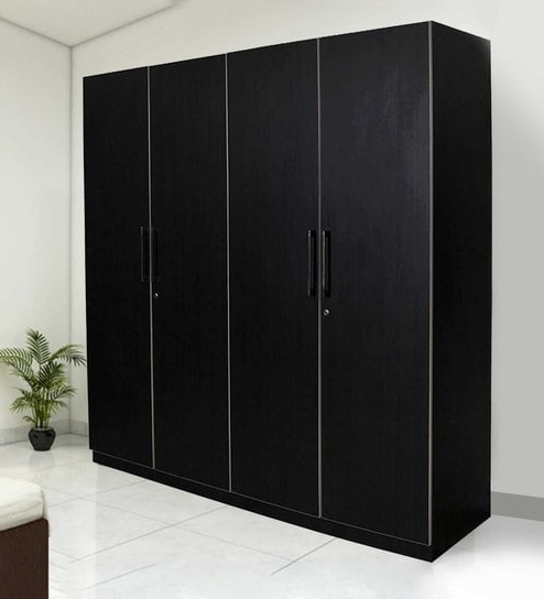 Buy Royal 4 Door Wardrobe With Hettich And Hafele Fittingpine Regarding 2017 Cheap 4 Door Wardrobes (View 1 of 15)