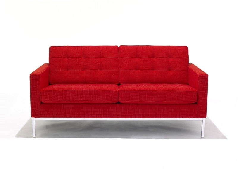 Buy The Knoll Studio Knoll Florence Knoll Two Seater Sofa At Nest For Well Known Florence Knoll Wood Legs Sofas (View 2 of 10)