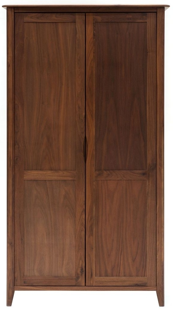 Buy Willis And Gambier Elegance Eol Black Walnut Wardrobe – Double For Newest Walnut Wardrobes (View 3 of 15)