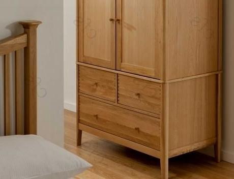 Buy Willis And Gambier Spirit Wardrobe, Spirit Oak Double Wardrobe Pertaining To Famous Willis And Gambier Wardrobes (View 3 of 15)