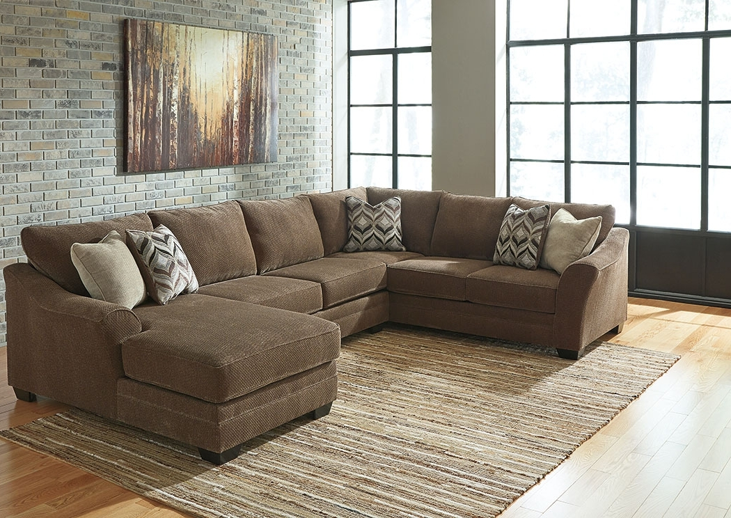 By The Room Furniture Justyna Teak Sectional W/right Facing Corner Pertaining To Favorite Right Facing Chaise Sectionals (View 15 of 15)