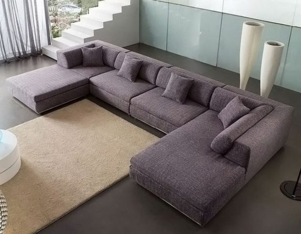 C Shaped Sofas With Latest Sectional Sofas : C Shaped Sectional Sofa – Die Besten 25 U Shaped (View 4 of 10)