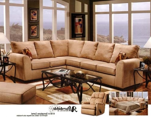 Camel Colored Sectional Sofas Within Popular Sofa Beds Design: Popular Modern Camel Colored Sectional Sofa (View 4 of 10)