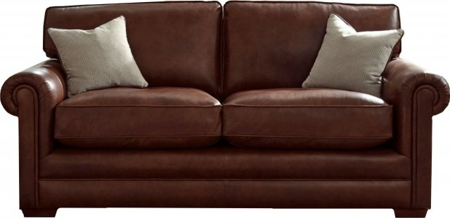 Canterbury Leather Sofas Regarding Newest Parker Knoll Canterbury Leather Grand Sofa – 3 Seater – Padfields (View 1 of 10)