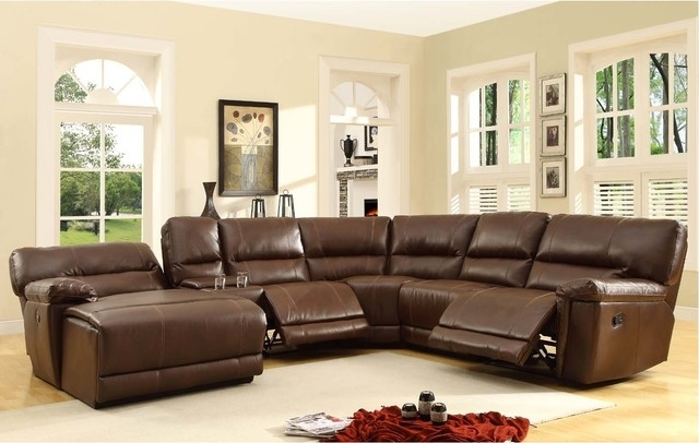 Captivating Sectional Sleeper Sofa With Recliners Sofa Beds Design With Regard To 2018 Reclining Sectionals With Chaise (View 2 of 15)