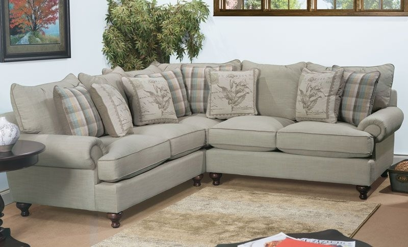 Casual Sectional Sofa From The Paula Deen Home Collection (View 3 of 10)