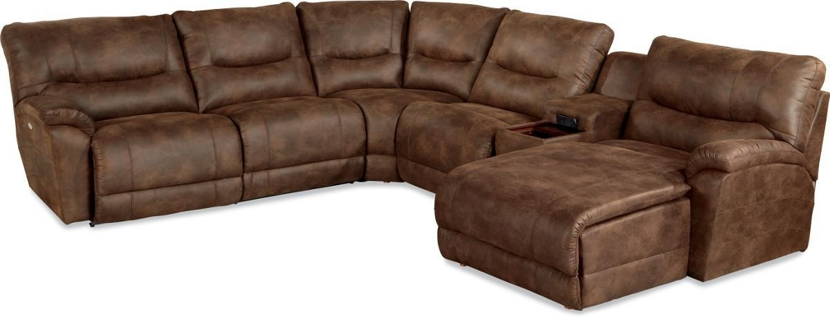 Casual Six Piece Reclining Sectional Sofa With Las Chaisela Z In 2017 La Z Boy Sectional Sofas (View 1 of 10)