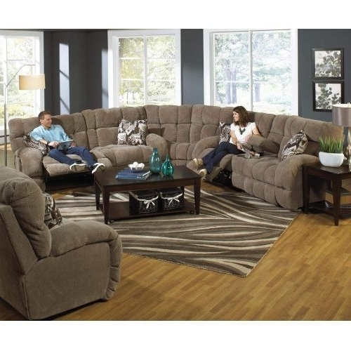 Catnapper 1761Gs 4 Piece Siesta Sectional Reclining Sofa In Favorite Macon Ga Sectional Sofas (View 3 of 10)