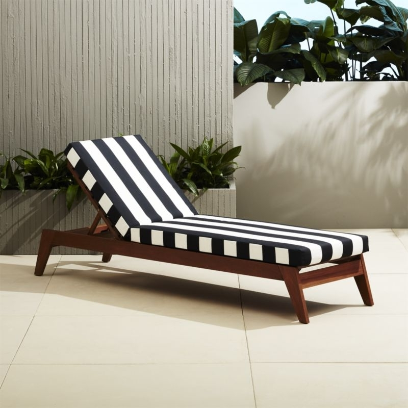 Cb2 Regarding Famous Chaise Lounge Chair Outdoor Cushions (View 1 of 15)