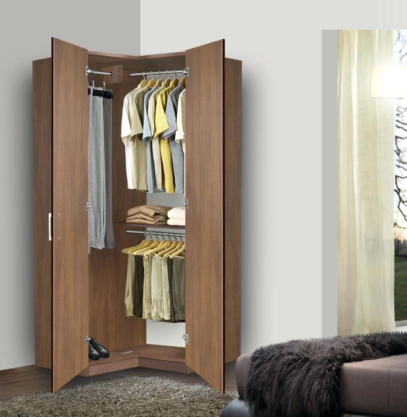 Chairs For Bedrooms Portable Corner Wardrobe Armoire Closet Design For Best And Newest Small Corner Wardrobes (View 3 of 15)