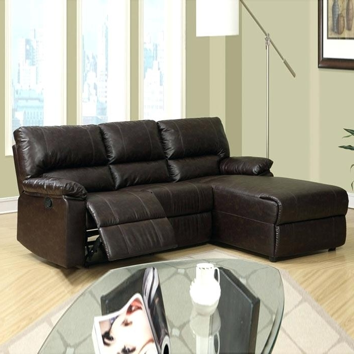 Chaise Couch Lounge Leather Small Sectional Sofa With Chaise Regarding Latest Small Sectional Sofas With Chaise (View 5 of 15)