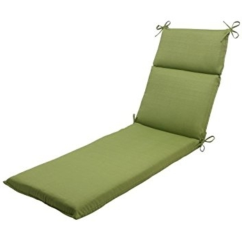 Chaise Cushions In Most Recently Released Amazon: Pillow Perfect Indoor/outdoor Forsyth Chaise Lounge (View 3 of 15)
